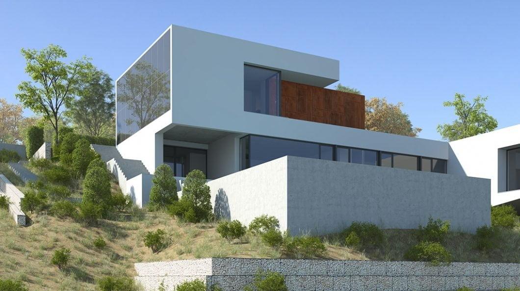 painéis solares em fachadas de edifícios
