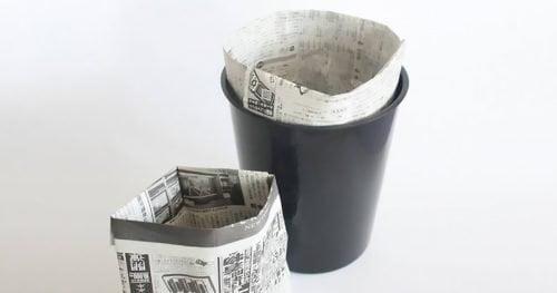 Saquinho de jornal